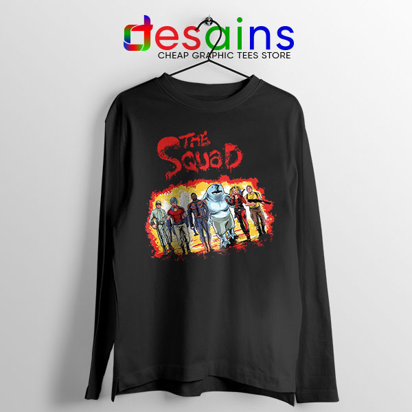 The New Suicide Squad Long Sleeve Tee DC Comics