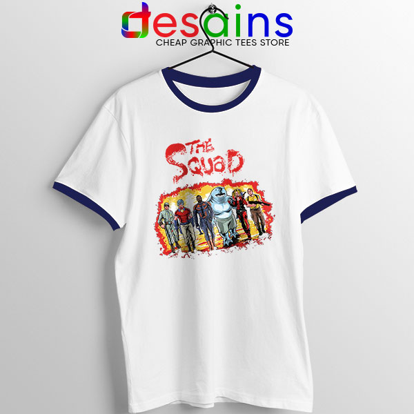 The New Suicide Squad Navy Ringer Tee DC Comics