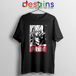 The Prince Vegeta Black T Shirt Super Dragon Ball Z