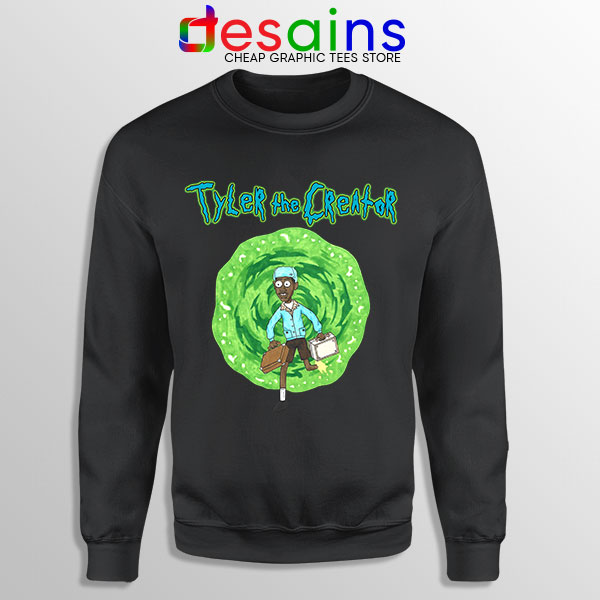 Tyler Creator Rick Morty Sweatshirt Rapper Cartoon