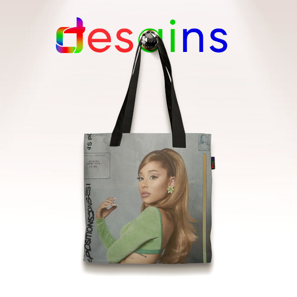 Ariana Grande Positions Cover Tote Bag Singer