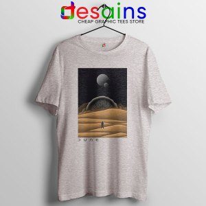 Arrakis Dune Desert Art Sport Grey T Shirt Planet Deserts