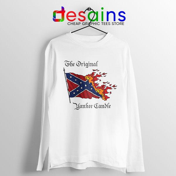 Best Original Yankee Candle Flag Long Sleeve Tee American