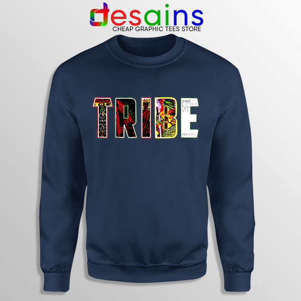 Best Tribe Called Quest Merch Navy Sweatshirt Hip Hop
