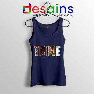 Best Tribe Called Quest Merch Navy Tank Top Hip Hop