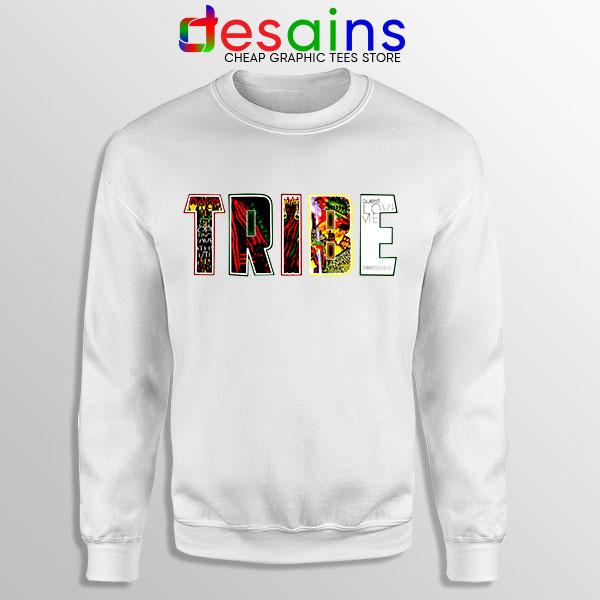 Best Tribe Called Quest Merch White Sweatshirt Hip Hop