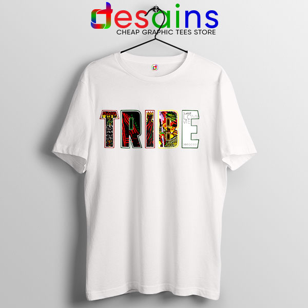 Best Tribe Called Quest Merch White T Shirt Hip Hop