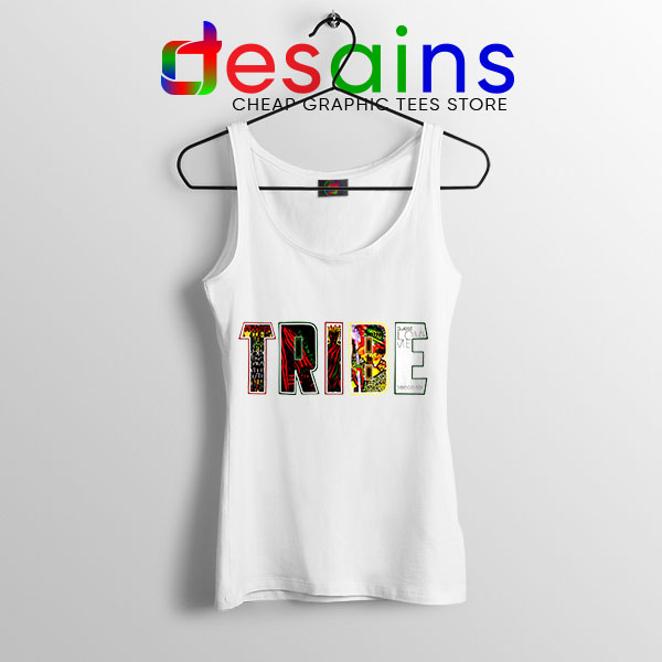 Best Tribe Called Quest Merch White Tank Top Hip Hop