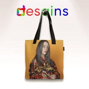 Billie Eilish Cover Art AOP Tote Bag