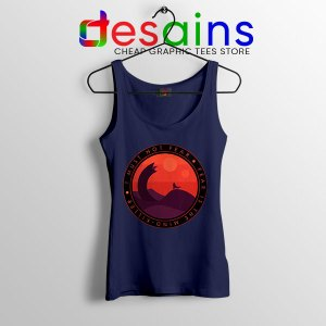 Buy Dune Quotes Fear Navy Tank Top I Must Not Fear