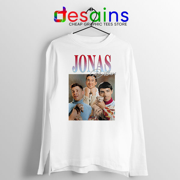 Buy Jonas Brothers Merch Retro Long Sleeve Tee Band
