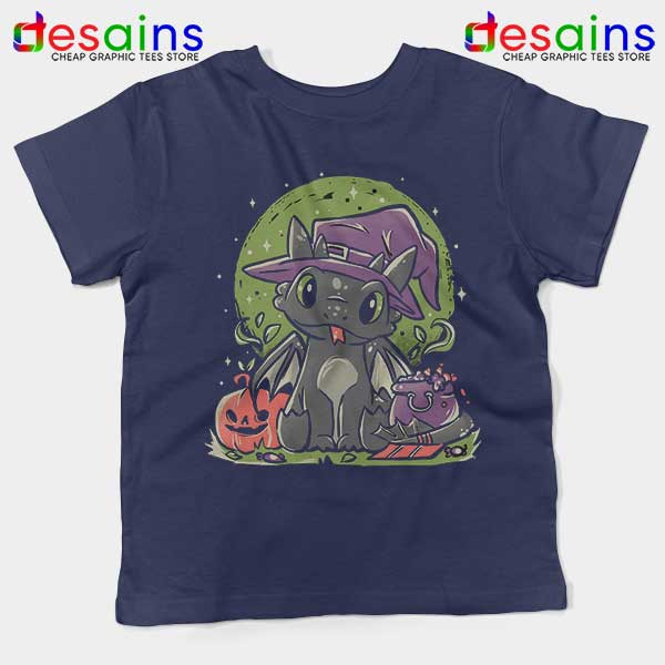 Buy Night Fury Halloween Navy Kids Tee Toothless Dragon