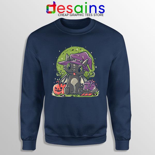 Buy Night Fury Halloween Navy Sweatshirt Toothless Dragon