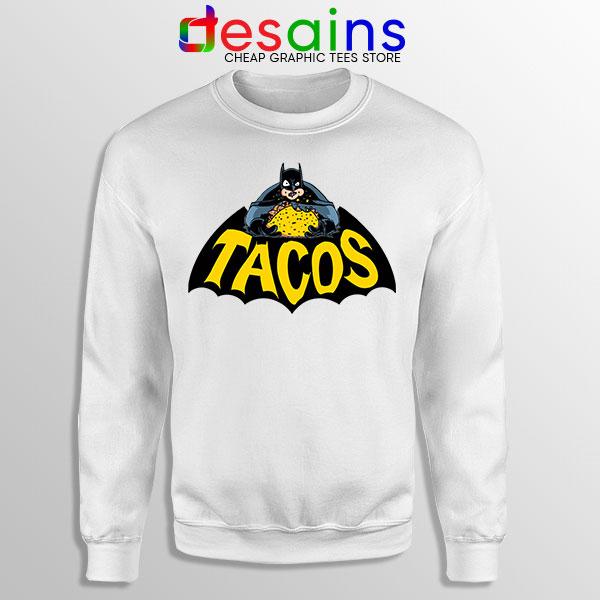 Buy Tacos Taco Bell Batman Sweatshirt DC Comics