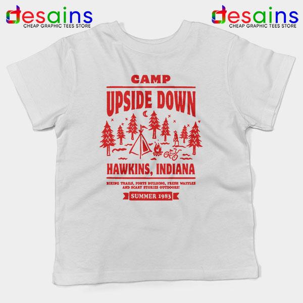 Camp Upside Down Hawkins Kids Tee Stranger Things
