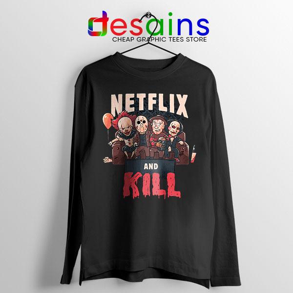 Classic Scary Horror Movie Long Sleeve Tee Netflix Kill