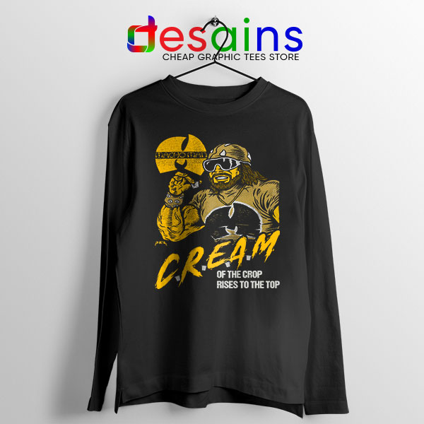 Cream of the Crop Long Sleeve Tee Macho Man Wu Tang