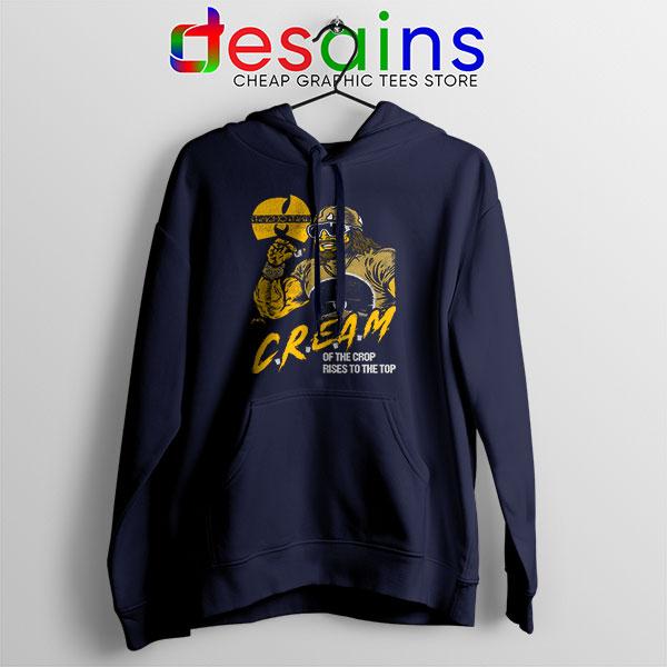 Cream of the Crop Navy Hoodie Macho Man Wu Tang
