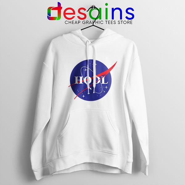 Crypto HODL NASA logo Hoodie