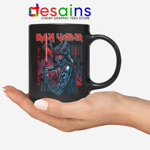 Iron Vader Maiden Samurai Mug Star Wars