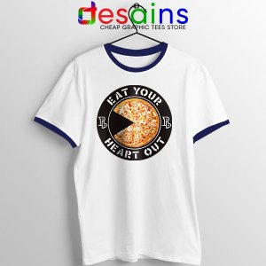 No More Heroes Airport 51 Navy Ringer Tee 094 UH