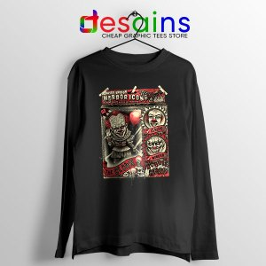 Pennywise The Clown Bobblehead Long Sleeve Tee IT Movie