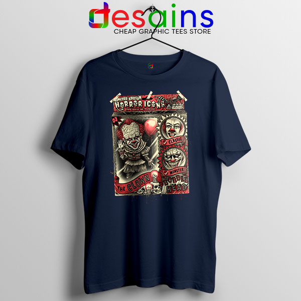 Pennywise The Clown Bobblehead Navy T Shirt IT Movie
