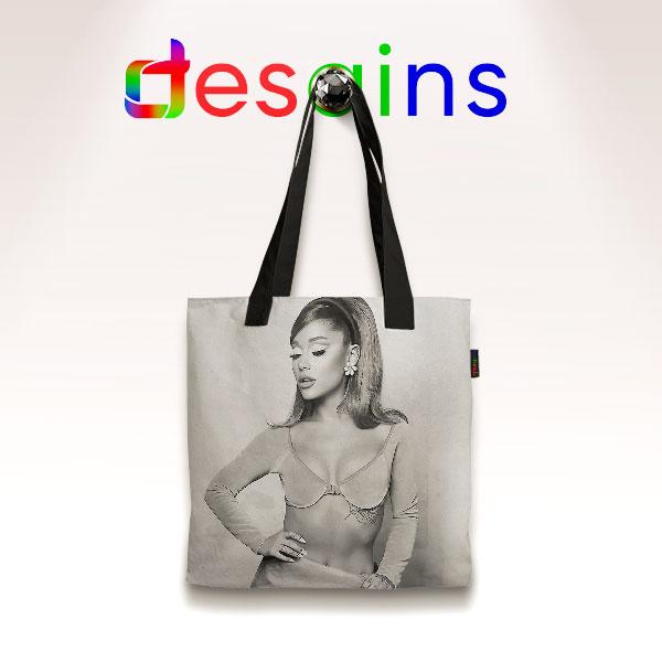 Positions Ariana Grande Pose Tote Bag Album