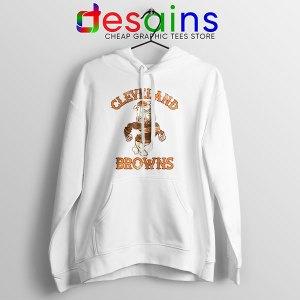 Retro Symbol Cleveland Browns Hoodie NFL