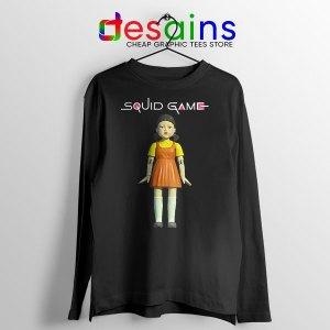 Squid Game Doll Mascot Long Sleeve Tee Netflix Merch