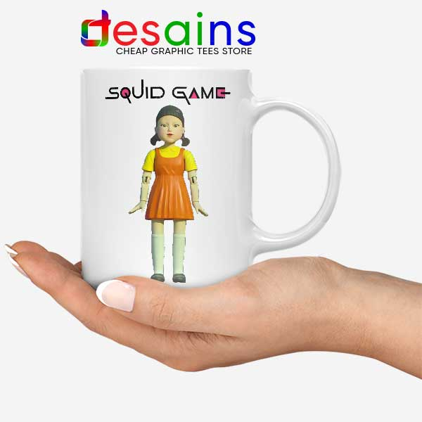 Squid Game Doll Mascot Mug Netflix Merch
