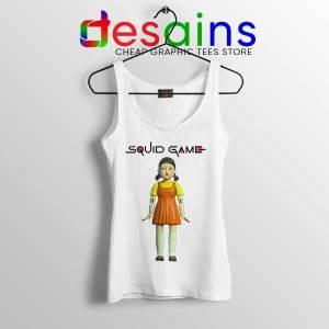Squid Game Doll Mascot White Tank Top Netflix Merch