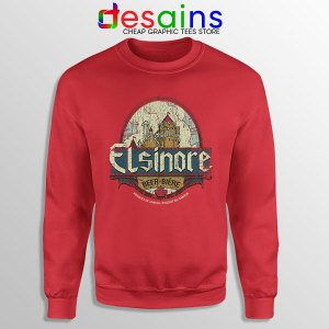 Strange Brew Elsinore Beer Red Sweatshirt 1983 Canadian