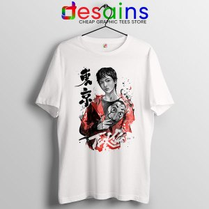 Tokyo Money Heist Sumi e Tshirt La Casa De Papel