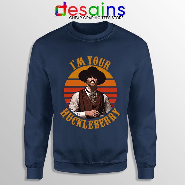 Vintage Your Huckleberry Navy Sweatshirt Tombstone