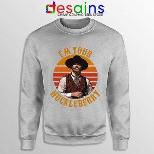 Vintage Your Huckleberry SPort Grey Sweatshirt Tombstone