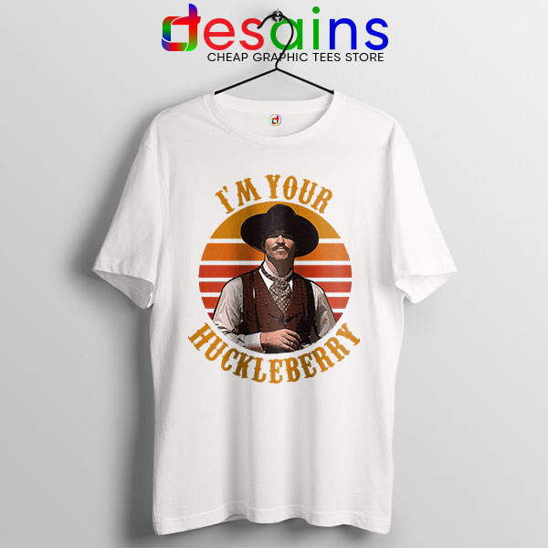 Vintage Your Huckleberry White Tshirt Tombstone