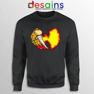 Wu Tang Clan Symbol Halloween Sweatshirt Horror Nights