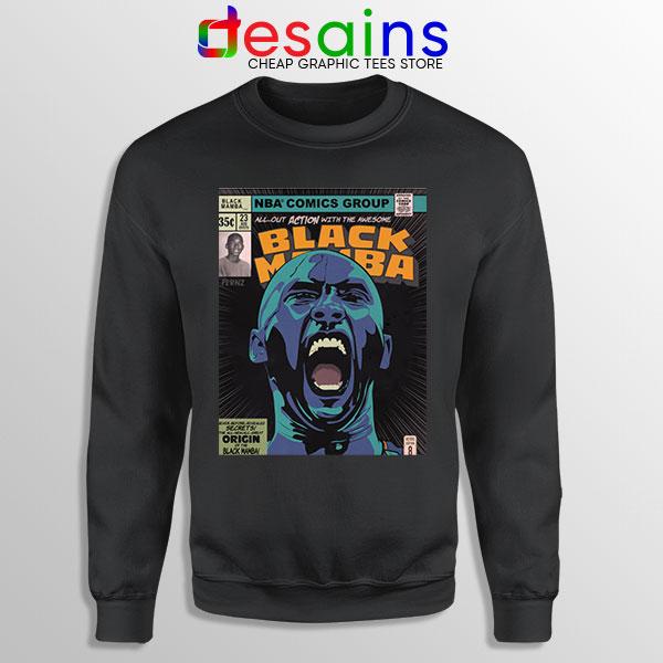 Mamba Kobe Bryant Comic Sweatshirt NBA Legend