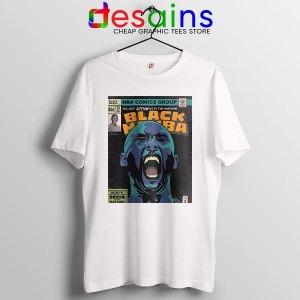 Mamba Kobe Bryant Comic White Tshirt NBA Legend