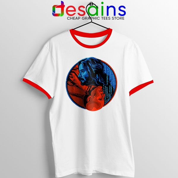 The Choice Matrix 4 Red Ringer Tee Keanu Reeves