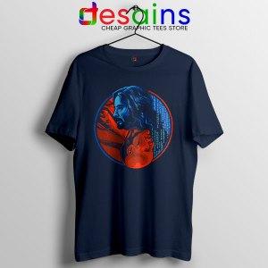 The Choice Matrix Resurrections Navy Tshirt Keanu Reeves