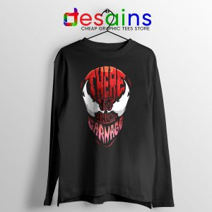 There is Only Carnage Long Sleeve Tee Symbiote Comics