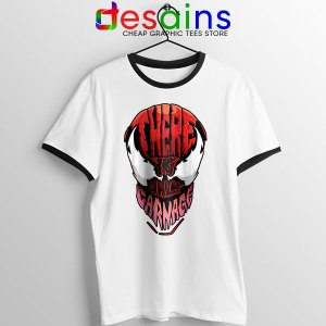 There is Only Carnage Ringer Tee Symbiote Comics