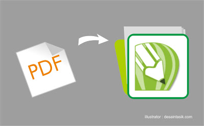 Cara Mengatasi Import File PDFKe Corel Yang Bermasalah