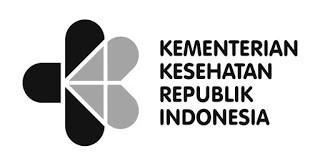 Logo Kemenkes RI Terbaru hitam putih