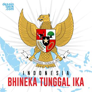Logo Garuda Indonesia (Bhineka Tunggal Ika)