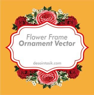 download frame flower ornament vektor png jpg hd untuk undangan desaintasik com download frame flower ornament vektor