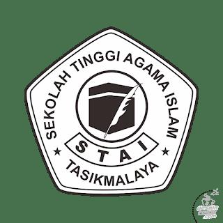 logo STAI hitam putih