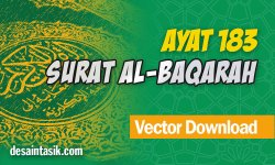 Surat-Al-Baqarah-Ayat-183-Tentang-Puasa-Vector-CDR-PNG-HD-Free-Download